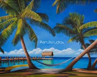Sunny Daze-Art print-Florida Keys