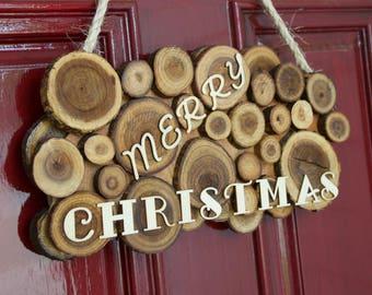 Wooden Door Sign