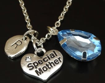 Special Mother Necklace, Special Mother Charm, Special Mother Pendant, Special Mother Jewelry, Gift for Mom, Mom Necklace, Mom Birthday Gift