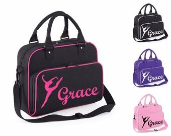Personalised Dance Bag Ballet Gym Bag Shoulder Bag School PE Kit Sack  Sports Kids Secret Santa Xmas Gift Tumblr Pintrest aa198f325f79a