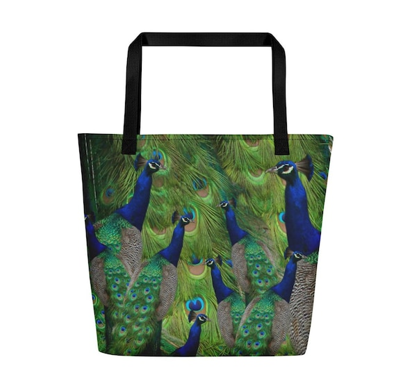 bird Always Sparkle tote bag Stocking Filler Peacock gift bag Personalized Tote I/'m a peacock you gotta let me fly bridesmaid gift