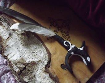 Hessilhead : Orca Smudging Fan