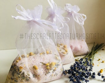 3 x 100g Lavender & Chamomile Dead Sea Bath Salts