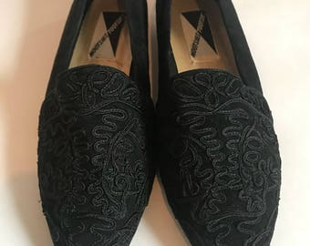 Vintage Mootsies Tootsies shoes, Woman's  size 8, Black flats