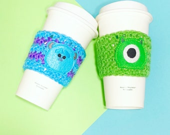 Sulley & Mike Cup cozies