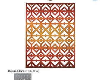 Elizabeth Craft designs - Diamond Background - die cutting