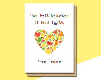preschool thank you etsy