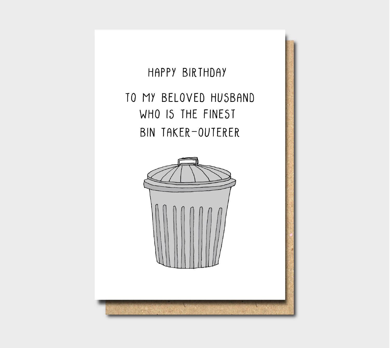 Happy birthday husband card birthday husband husband card | Etsy