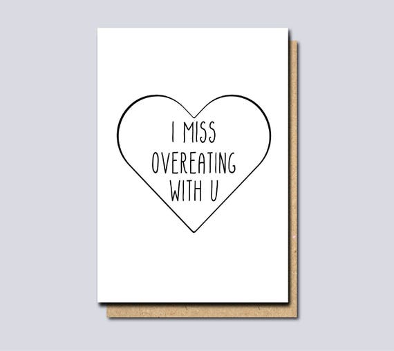 I miss you card thinking of you card funny miss you card etsy image 0 m4hsunfo