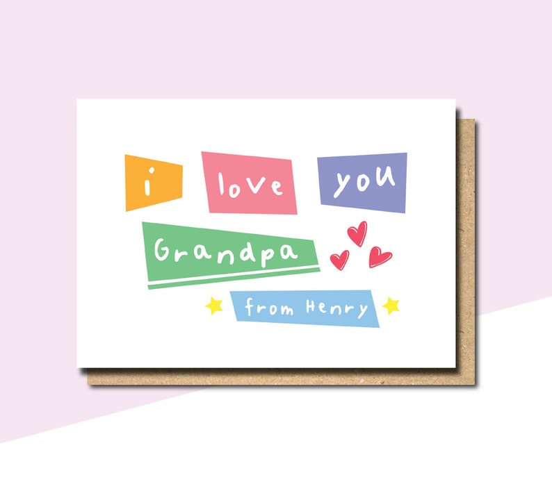 withpuns fathers day card from daughter FD34 fathers day card from grandson personalised father/'s day card fathers day card for grandad