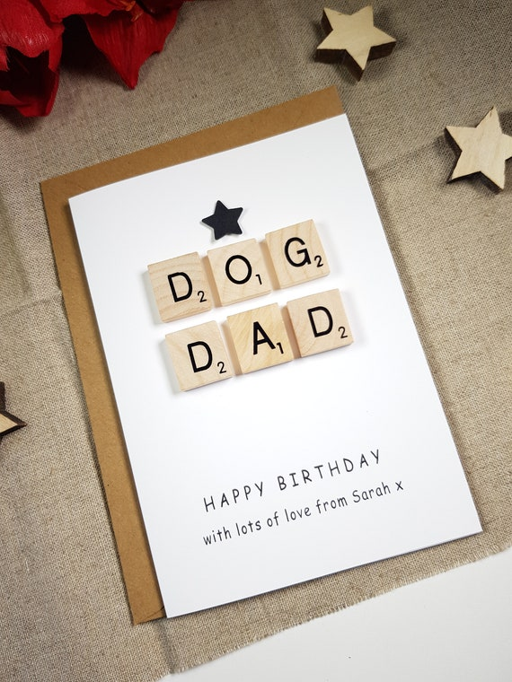 Birthday Card From The Dog Dad