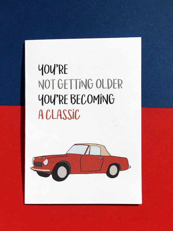 Getting Classic Card Funny Birthday Colleague