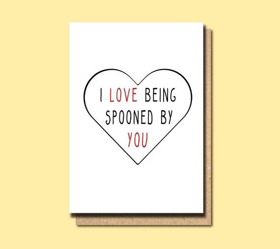Boyfriend Birthday Card Anniversary Card Cute Love Card Etsy