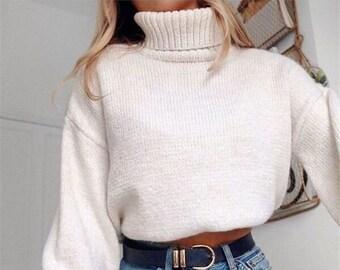 9ef2c71bf928 Short wool sweater