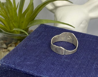 Sterling silver 'offcut' ring