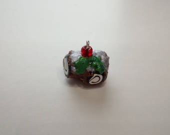 Buche de Noel Progress Keeper or  Stitch Marker