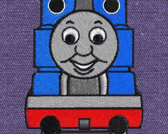 Embroidery design Thomas the train 4x4 pes hus jef