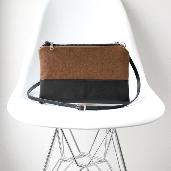 e013e3bdaacf Wool Small Crossbody Bag    Small Crossbody Purse Cute