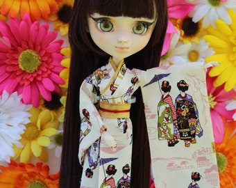 Pullip Kimono (beige ladies)