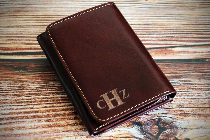 1c31d6917a67 Trifold wallets for men personalized trifold wallet with