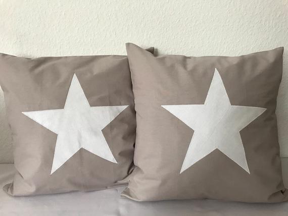 Funda de almohada estados unidos 40x40 azul blanco estrellas almohada funda landhaus Stars