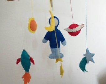 Personalized Baby Mobile. Hand Made