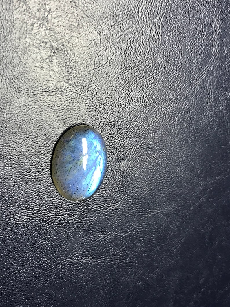 Christmas Sale 30/% Off Natural Labradorite Smooth Cabochon Oval Shape Size 16x22x7 mm Amazing Blue Fire Whole Sale Price CODE LBT#08