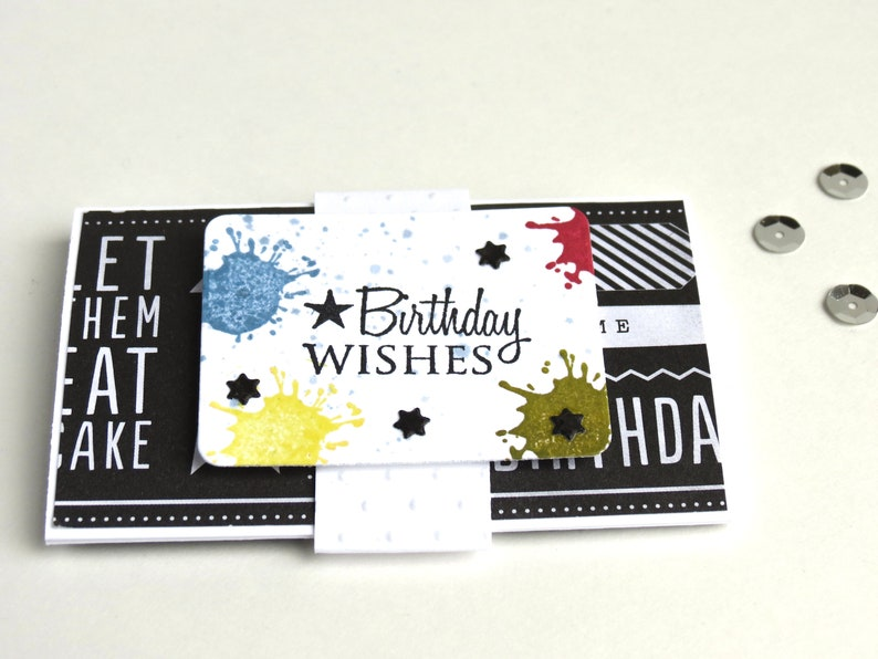Birthday Wishes Gift Card Envelope