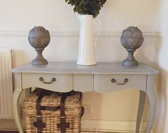 NEW - Grey Console / Hall Table  (Country Chic) (Chest of Drawers)
