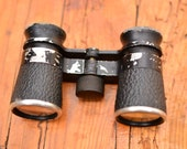 Vintage Small Black Opera Binoculars,Small Binoculars,Pocket Binoculars,Black Opera Binoculars,Theater Glasses,Old Opera Glasses,Gift Idea