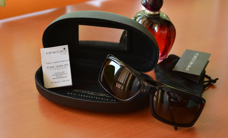 6b908c4fddaef5 Womens Prego zonnebril met zwarte zonnebril Vintage Prego