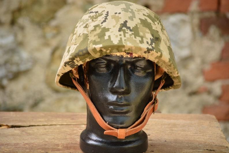 5226e02aae7 Vintage Helmet with CoverVintage Military HelmetMilitary