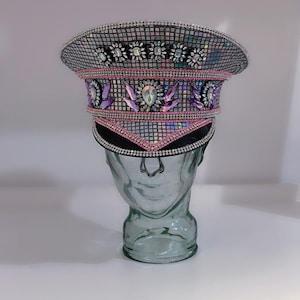 lost lands edc basshead rave virus military hat bass canyon Excision LED Captain/'s Hat: festival hat headbanger headbanga