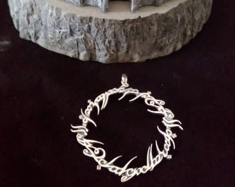 Lord of the Rings  SILVER PENDANT