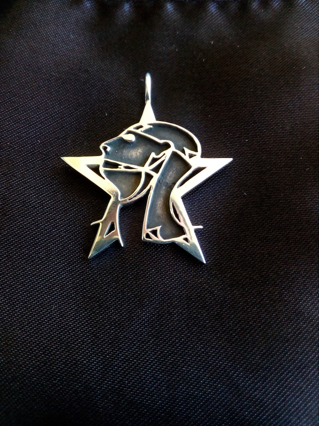 Sisters Of Mercy Silver Custom Pendant Etsy
