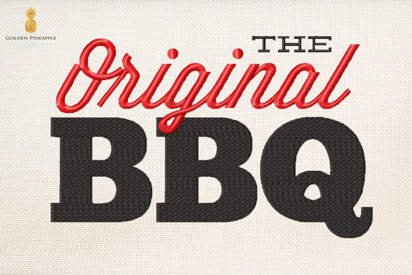 The Original Bbq Camp Embroidery Bbq Embroidery Grill