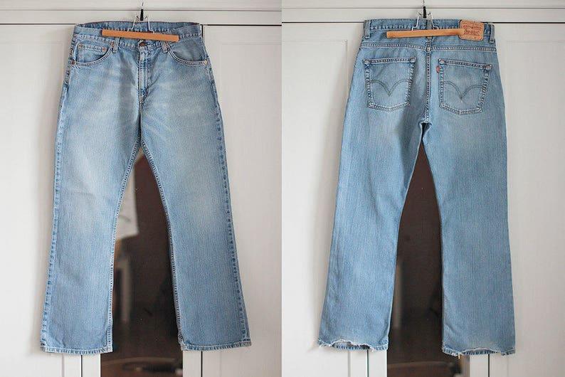 30c524e26 Pantalones vaqueros Levis 507 azul mezclilla Levi Strauss