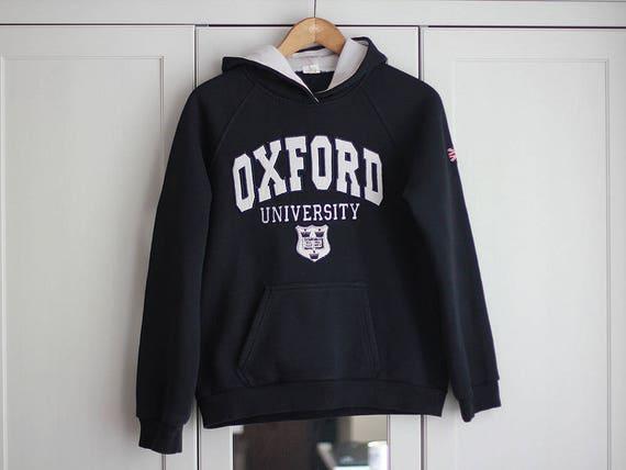 Oxford University Sweatshirt Hood Men Women Sports Jacket Vintage Sweatshirt Navy Blue White Bomber Jacket 2nrMT