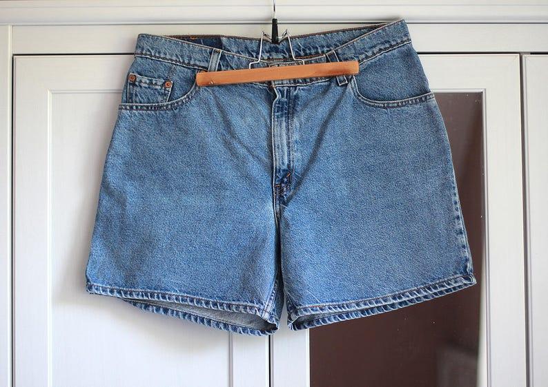 bd065e8be0 Levis Shorts Jeans Blue Denim Levi's Strauss Size 34 W34 | Etsy