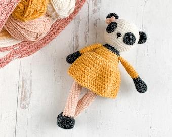 Crochet Panda Pattern - Instant Download - Amigurumi Pattern
