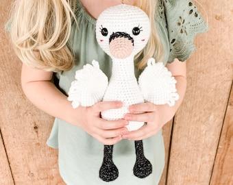 Crochet Swan Pattern - Instant Download - Amigurumi Pattern