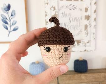 Crochet Acorn Pattern - Instant Download - Amigurumi Acorn Pattern