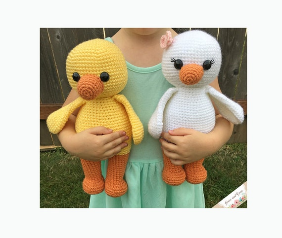 Amigurumi Duck - PDF Crochet Pattern - Instant Download