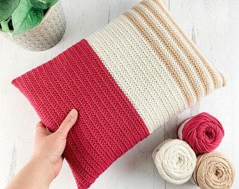 Crochet Throw Pillow Pattern - Instant Download