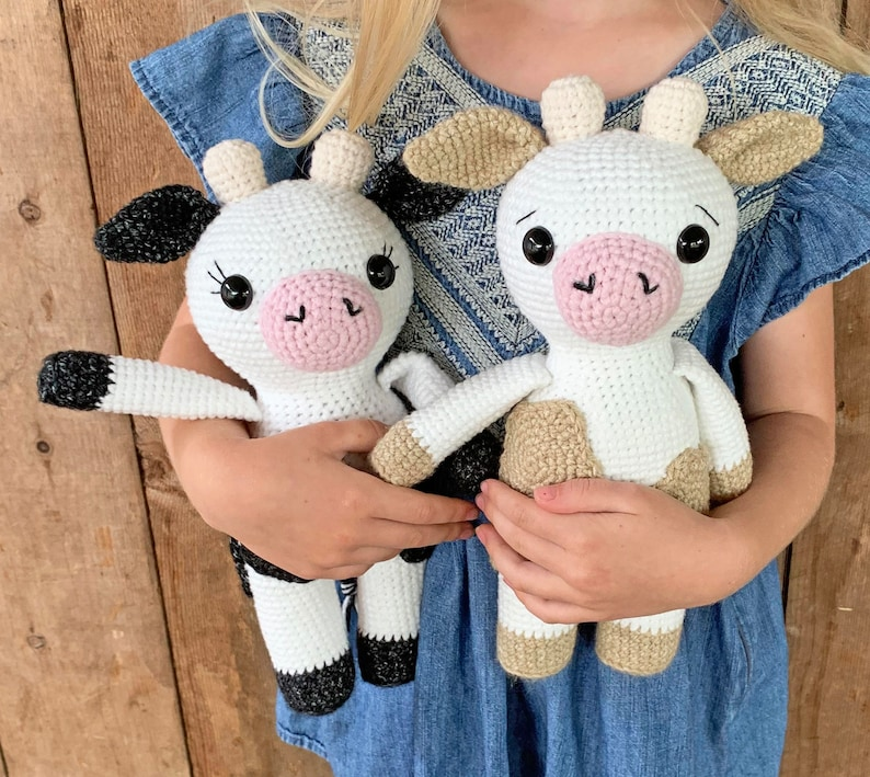 Amigurumi Cow Pattern  PDF Instant Download  Crochet image 0