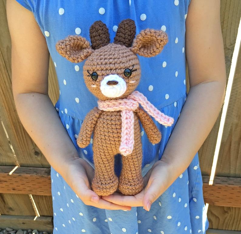Crochet Reindeer Pattern  Instant Download  Amigurumi  Small image 0