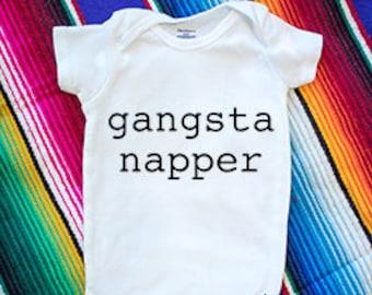 Gangsta Napper Onesie
