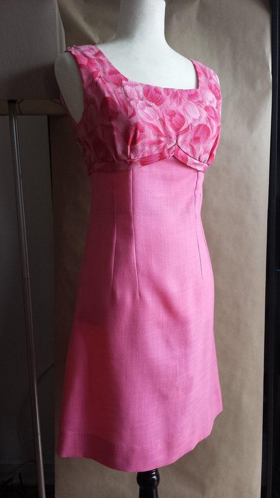 1960s bubblegum pink mini