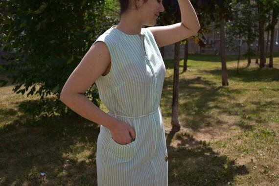 1960s-70s sheath dress - image 3