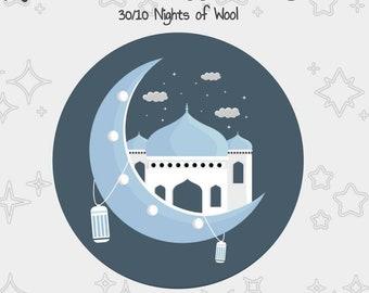 The Ramadan Wool Club 2022 - Ramadan calendar Dyer Collab - Hand dyed yarn - indie dyed yarn